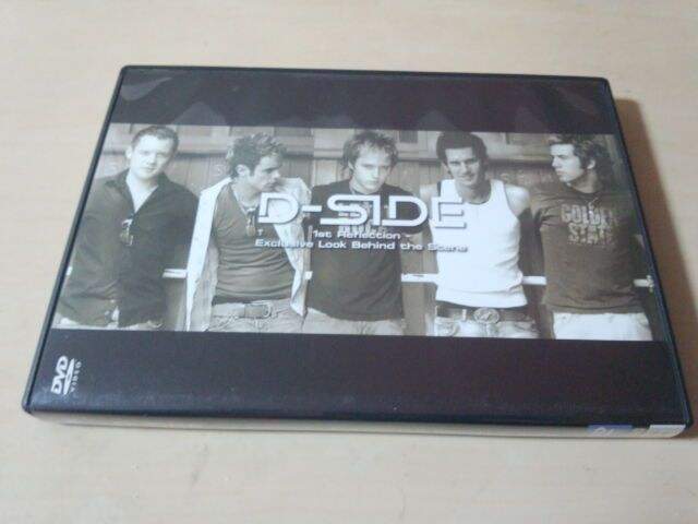 D-SIDE DVD「1st Reflection Exclusive Look Behind the Scene」  < タレントグッズの