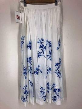 UNUSED(アンユーズド)花柄レーヨン フレアスカートフレアスカート