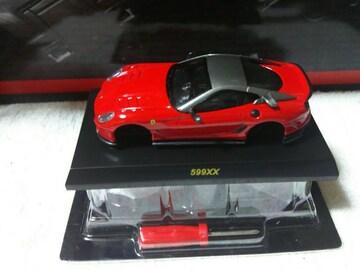 京商 フェラーリ8   599XX 赤
