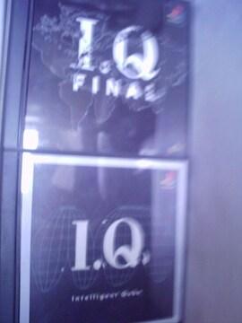 PS IQ・IQ FINAL 中古品2本
