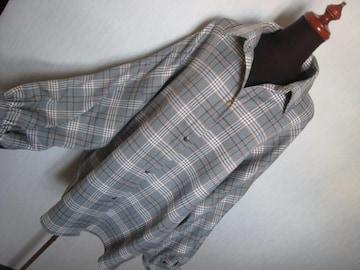 エモダ/EMODA /チェックのシャツ風ジャケット/ゆったりめ美品