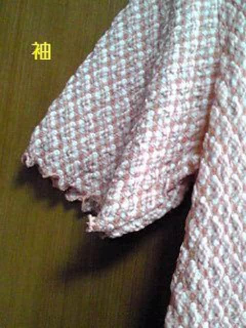 M〜L ピンクオレンジチェック柄チュニック < 女性ファッションの