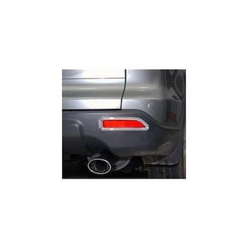 ホンダ CR-V RE3 RE4 クロームメッキリフレクターリング リアバンパーライトリム 前期用