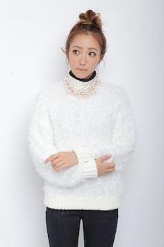 新作レディメイド★ハイネックフェザープルオーバー