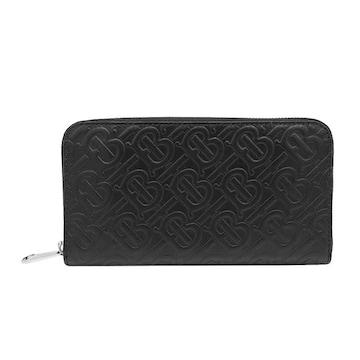 ◆新品本物◆バーバリー CONTINENTAL ZIPPER 長財布(BK)『8017652』