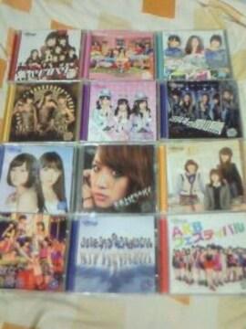 CD+DVD AKB48 チームサプライズ 重力シンパシー公演 12枚セット 一般販売ver.