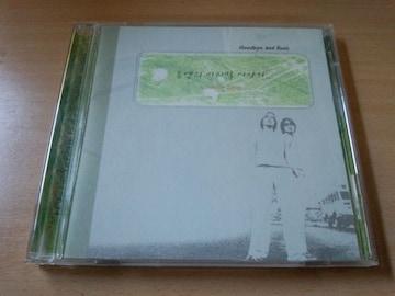 U.N CD「Goodbye & Best ベスト」UN 韓国K-POP●