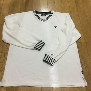美品 Vネックシャツ L