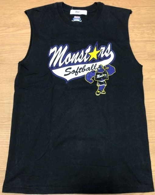 Hanes/Monsters/ソフトボール/ノースリーブシャツ/S/1807110  < レジャー/スポーツの