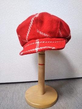 ◆agnes b.アニエスベー◆ウールキャスケットフランス製帽子