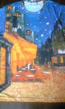 『夜のカフェテラス』ビンセント・バーン・ゴッホ