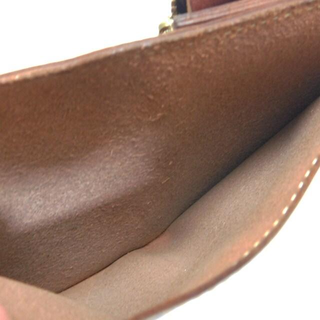 土屋鞄製作所 二つ折り財布 レザー 茶 良品 正規品 < 男性ファッションの