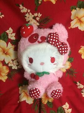 新品未使用☆キティちゃんぬいぐるみ☆めちゃかわピンクのパンダ