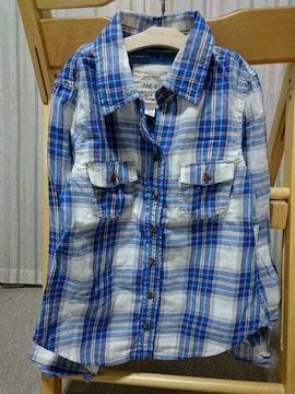 ◆半額即決★ラス1★新品★フォーエバー21★チェックシャツ★XS
