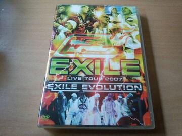 EXILE DVD「EXILE LIVE TOUR 2007〜EXILE EVOLUTION〜」●