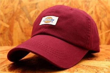 送料無料★箱入り DICKIES  キャップ・帽子 赤 DK6-8