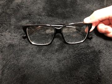 メガネ 伊達 だてめがね 黒縁メガネ