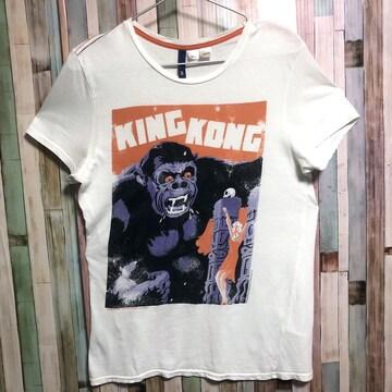 H&M KING KONG イラストTシャツ