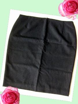466新品★大きいサイズ タイトスカート OL 事務員 制服に 黒系