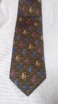 バーバリーネクタイ  ネクタイ柄 イタリア製