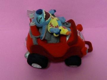 ディズニーストア 車に乗った スティッチ 車(赤)