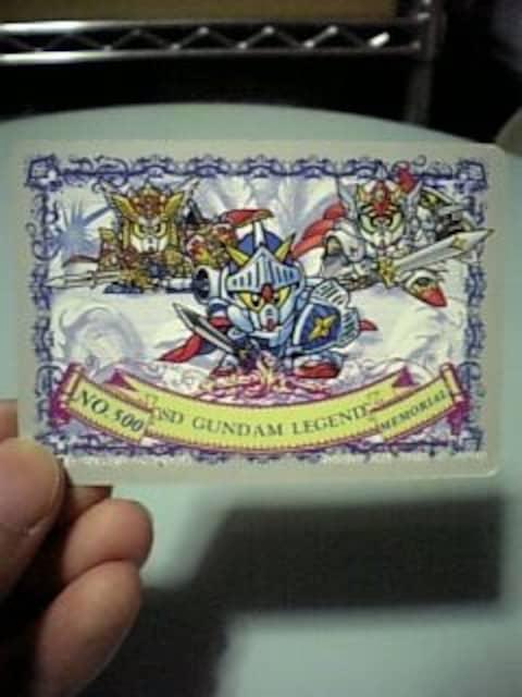 カードダス☆SDガンダム外伝『500』 < トレーディングカードの