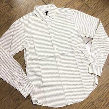 美品BLUE WORK ストライプシャツ 日本製 トゥモローランド