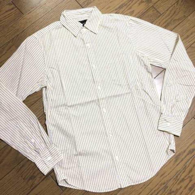 美品BLUE WORK ストライプシャツ 日本製 トゥモローランド  < ブランドの