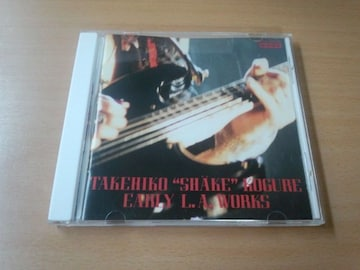 木暮武彦(SHAKE) CD「EARLY L.A. WORKS」RED WARRIORS●