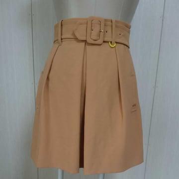 トレンチスカート フレアスカート 上品 春にぴったり