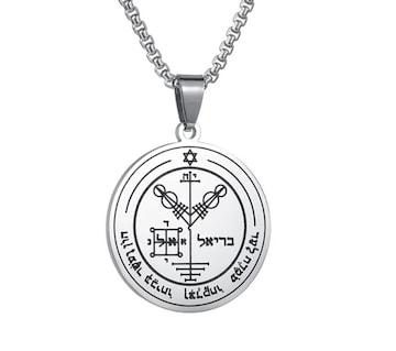 ソロモン王 木星第4の護符ネックレス 金運 財運 栄誉