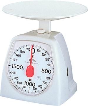 タニタ はかり スケール 料理 2kg 10g ホワイト 1439-WH