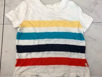 baby GAPボーダー柄半袖Tシャツ★90cm