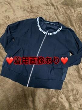 ビジュージャケット☆黒☆フリーサイズ