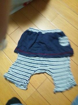 スカートズボン