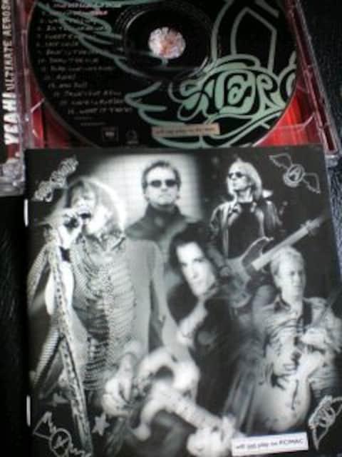 AEROSMITH/エアロスミス/ベスト2枚組/限定/アルティメイト エアロスミス ヒッツ/2CD限定盤 < タレントグッズの