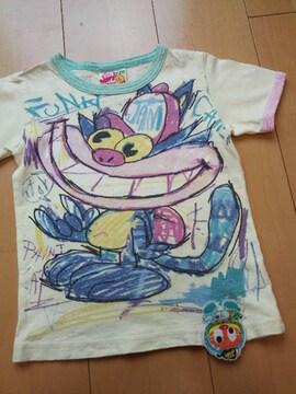 中古らくがきしたニャーTシャツ110JAM