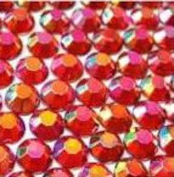 ● 5mm ● デコ用ストーン  2000粒 レッド