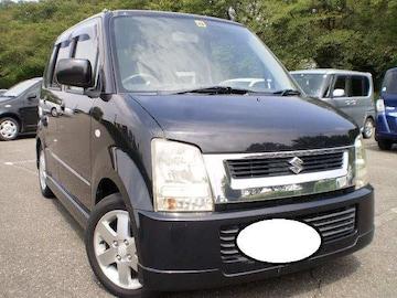 ワンオーナ激安売切り超大人気ワゴンR人気のブラック車検満タン