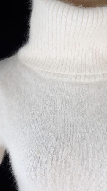 381★ラストシーン★暖かいアンゴラ使用セーター★ < 女性ファッションの