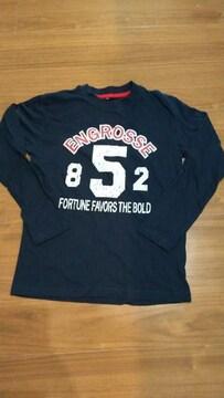 150�p紺色長袖Tシャツ��1249