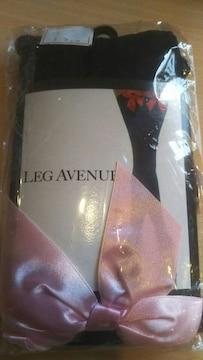 leg avenue レッグアベニュータイツ(ピンク×白)送料込み