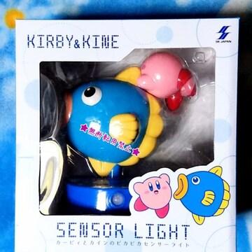 星のカービィ カービィ と カイン のピカピカ センサー ライト 新品非売 照明