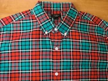 J.CREW ジェイクルー OX BDシャツ Mサイズ