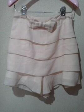 ネットディマミーナ一見スカートに見えるパンツ/送料250円