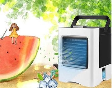 熱中症・暑さ・電気料対策4590円★卓上USB冷風扇