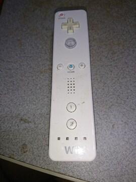 白のWiiのリモコン!