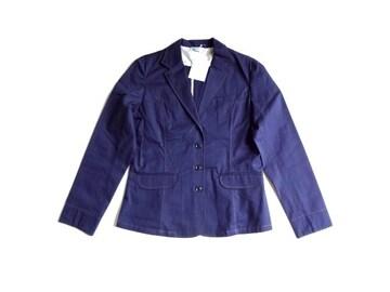 新品 定価7245円 G3 COMPO 紺 テーラード ジャケット 11 L