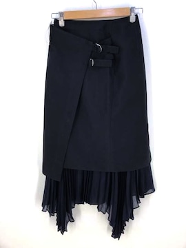 UNITED TOKYO(ユナイテッドトウキョウ)プリーツレイヤードラップスカートプリーツスカート
