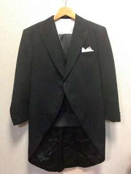 �F     礼服 モーニング 4点セット  155〜160♪ AB3